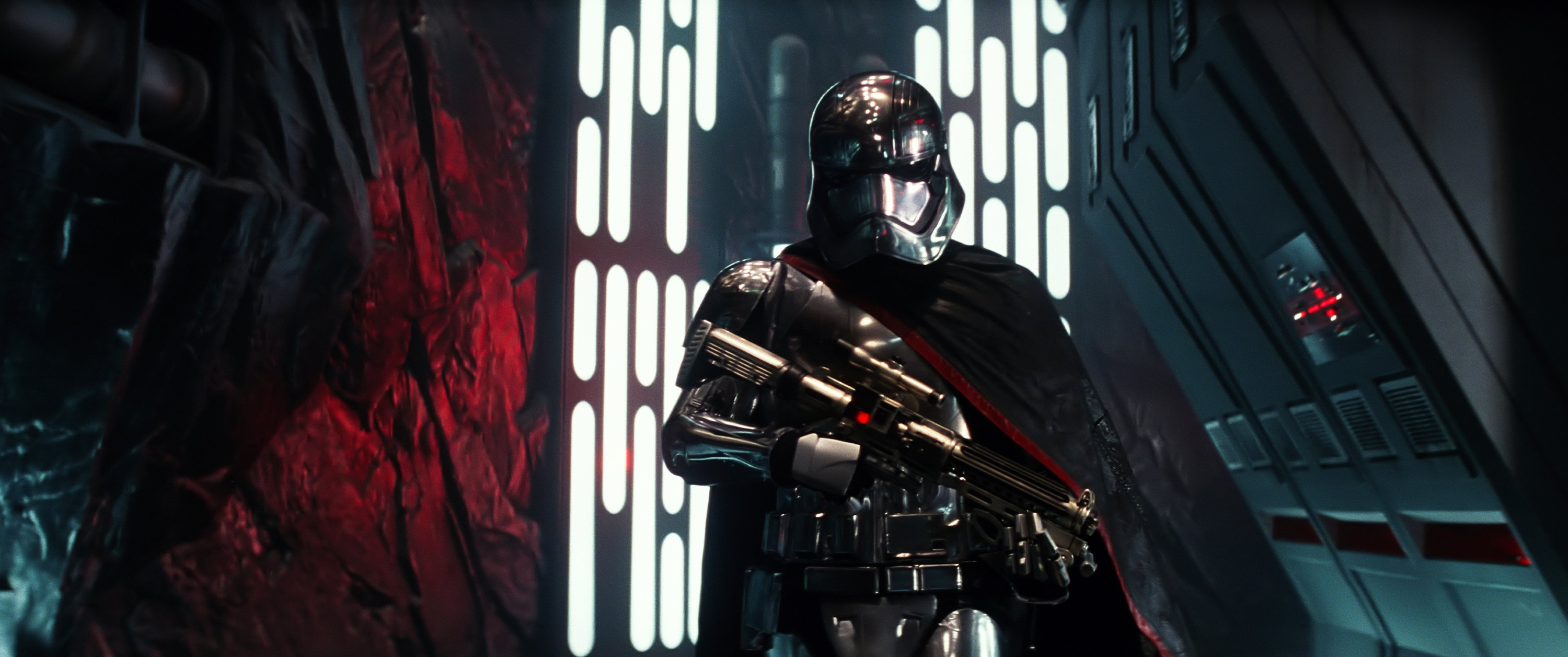 Is THIS the first line spoken in Star Wars: The Force Awakens?
