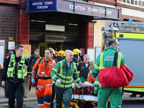 Man arrested after passenger was 'pushed under' train at Kentish Town tube station