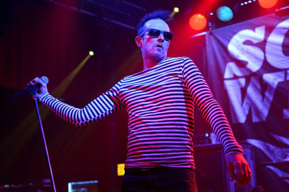 FILE - DECEMBER 03: Musician Scott Weiland, formerly of the bands Stone Temple Pilots and Velvet Revolver, has been found dead on his tour bus. He was 48. CHICAGO, IL - FEBRUARY 27: Scott Weiland and the Wildabouts perform at the Double Door on February 27, 2015 in Chicago, Illinois. (Photo by Daniel Boczarski/Getty Images)