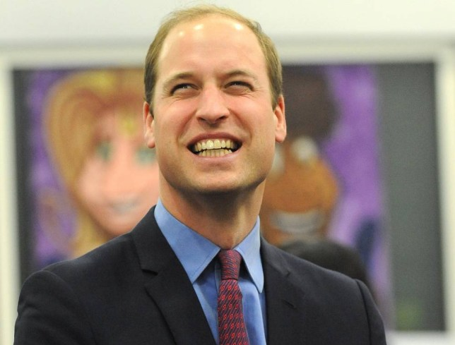The Duke of Cambridge reacts to activities during a visit to the Diana Award where he took part in anti-bullying activity sessions at Bournville College, Birmingham. PRESS ASSOCIATION Photo. Picture date: Monday December 7, 2015. See PA story ROYAL Duke. Photo credit should read: Rui Vieira/PA Wire