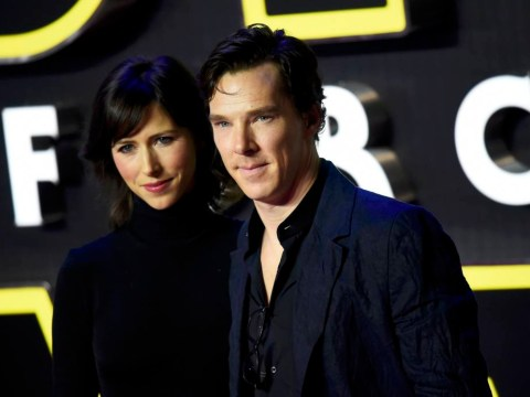 Benedict Cumberbatch reveals Doctor Strange hair at Star Wars: The Force Awakens premiere