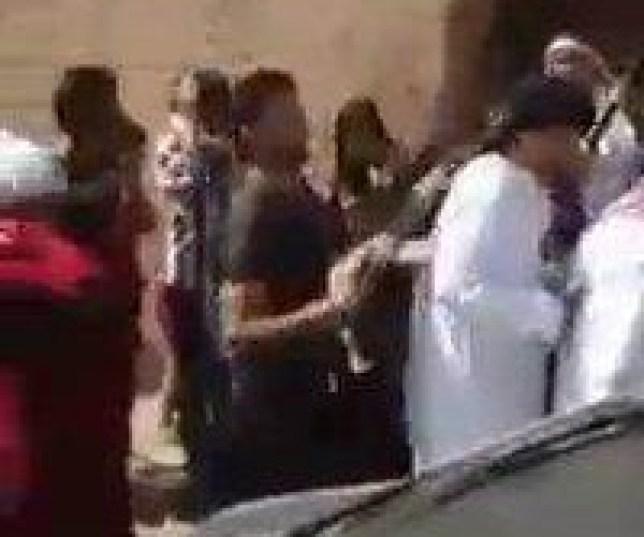 Man Accidentally Shot Dead During Wedding Celebration Source: LIVELEAK Source LINK: http://www.liveleak.com/view?i=02d_1450462682