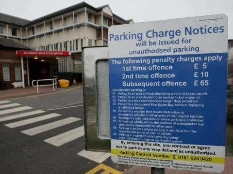 How much has your local hospital made from parking fees?