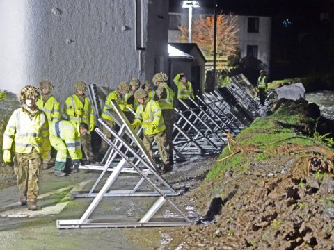 Army forced to step in to tackle floods as torrential rain hits Britain on Boxing Day