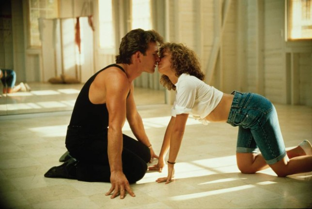 FILM: Dirty Dancing (1987) with Jennifer Grey as Frances 'Baby' Houseman and Patrick Swayze as Johnny Castle. 04_300dpi.jpg