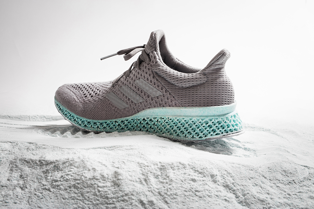 These 3D printed trainers are crafted entirely from ocean waste