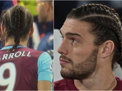 Andy Carroll unveils new haircut, Twitter can't get enough of it