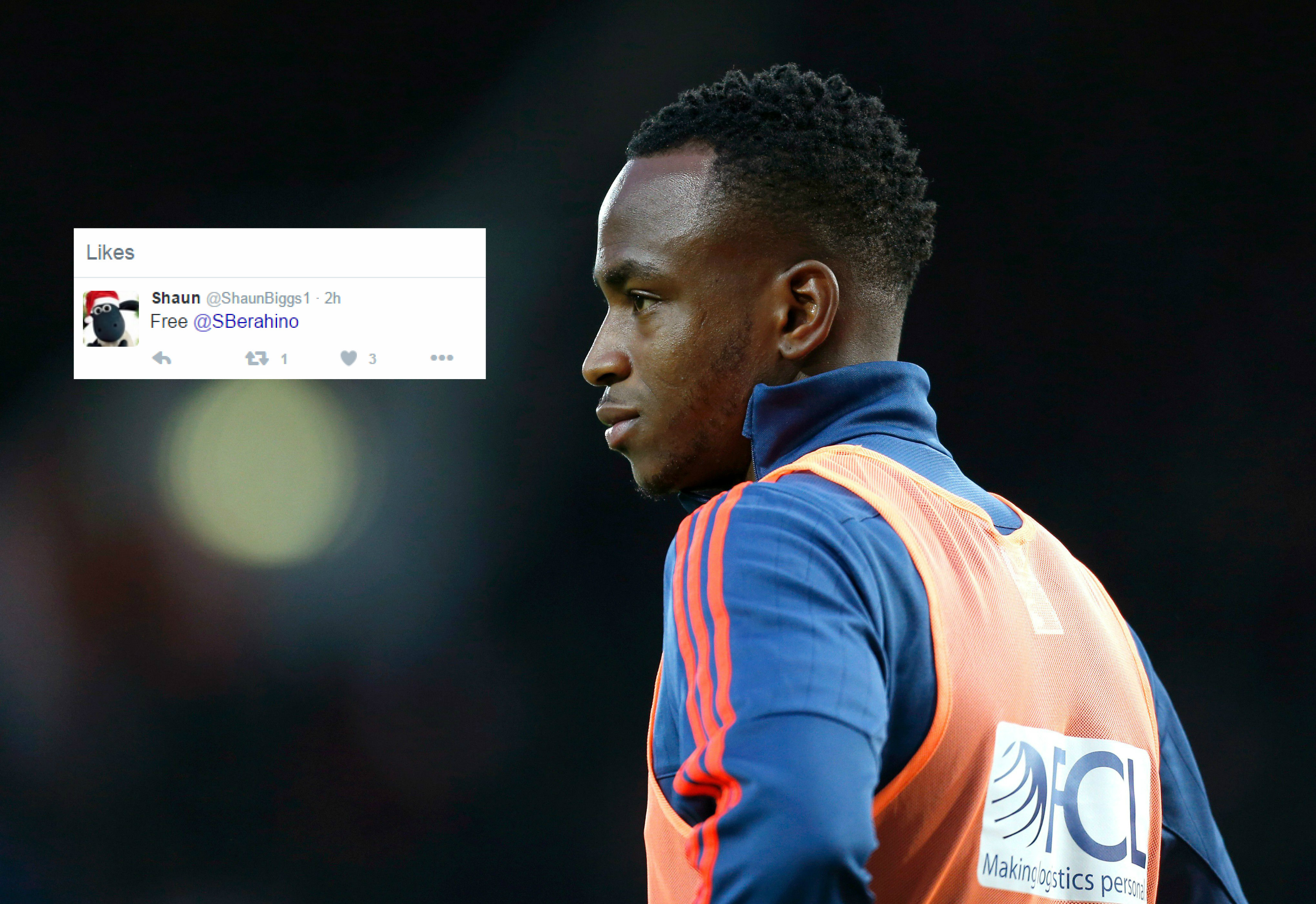 Manchester United target Saido Berahino 'likes' series of tweets criticising West Brom amid transfer speculation