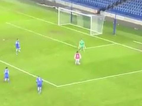 Donyell Malen scores quality solo goal on Arsenal U21 debut v Brighton