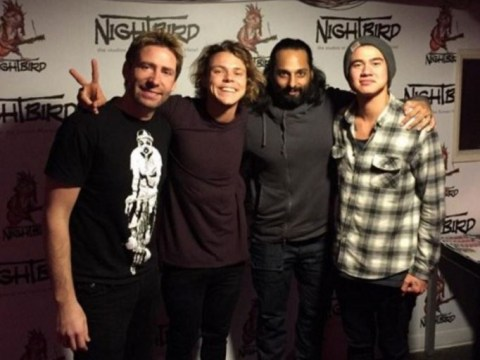 5SOS call Nickleback's Chad Kroeger 'creepy' for showing them 'hot chicks dancing' videos