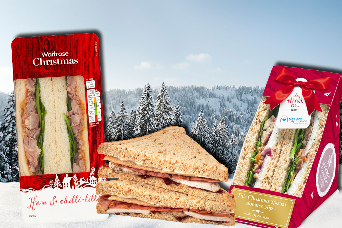 Quiz: Which high-street Christmas sandwich are you?