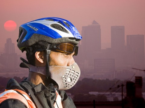 Toxic smog and 'blood rain' is going to hit the UK so you should probably just stay indoors