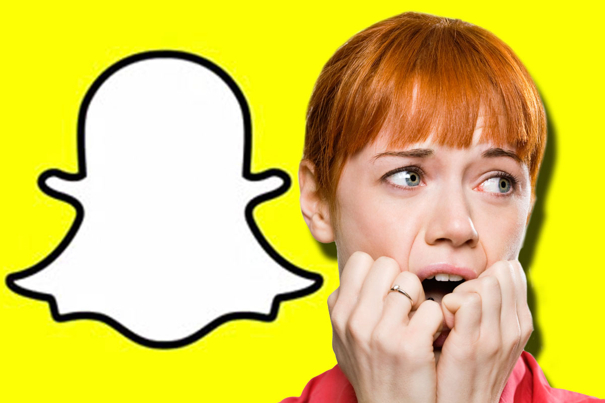 Snapchat's down and people are freaking out Getty