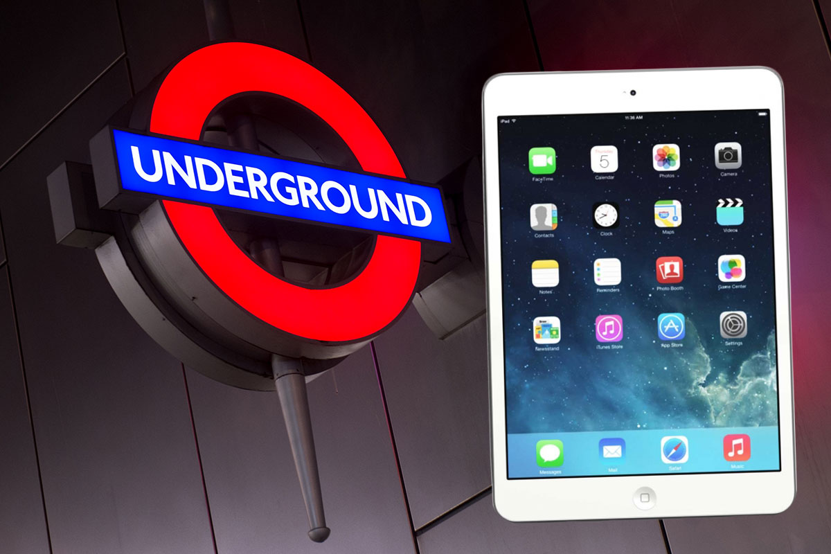 All Tube staff will get iPad minis in the new year
