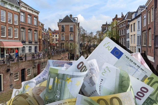 """""""Dutch city plans to pay all citizens a 'basic income', and Greens say it could work in the UK"""" Getty"""