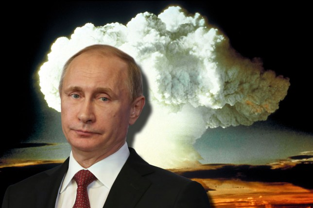 Putin casually floated the idea of using nuclear weapons against ISIS (Picture: Getty/Metro)