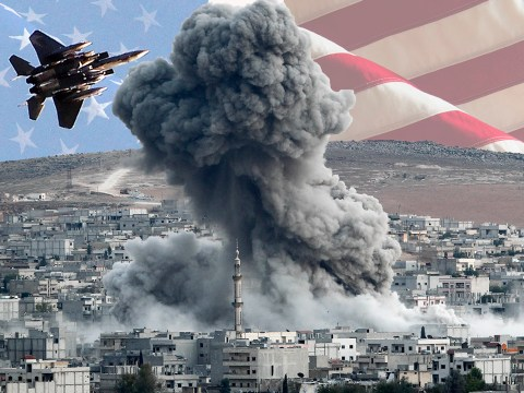 Listen as US weapons makers celebrate the money they're making from war in Syria