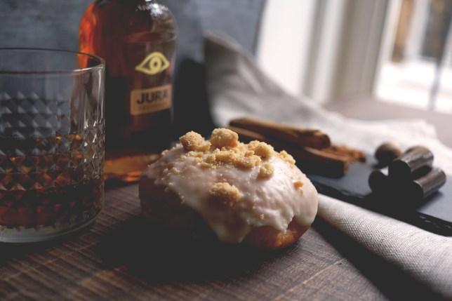 Whisky doughnut
