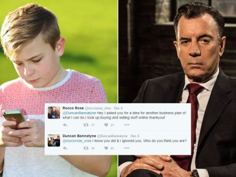 Duncan Bannatyne in Twitter spat with 12-year-old businessman: 'Who do you think you are?'