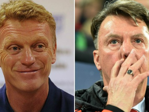 Louis van Gaal has won less Champions League games with Manchester United than David Moyes