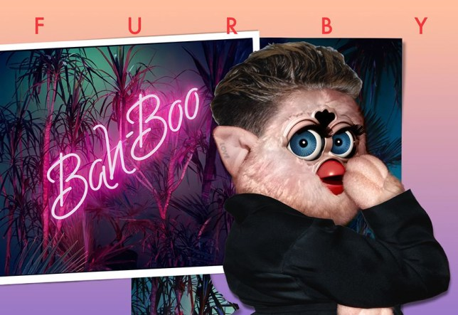 Furby Living Tumblr photoshops Furbies onto famous album covers