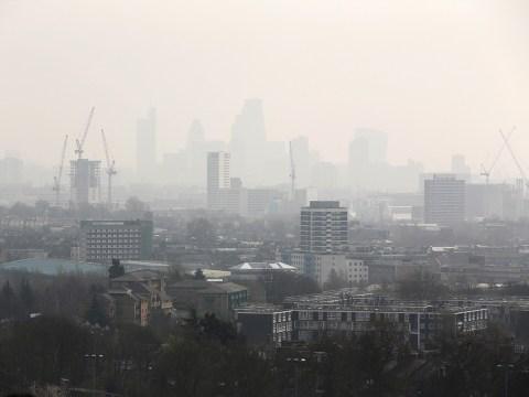 London breaches annual air pollution limits in just a WEEK