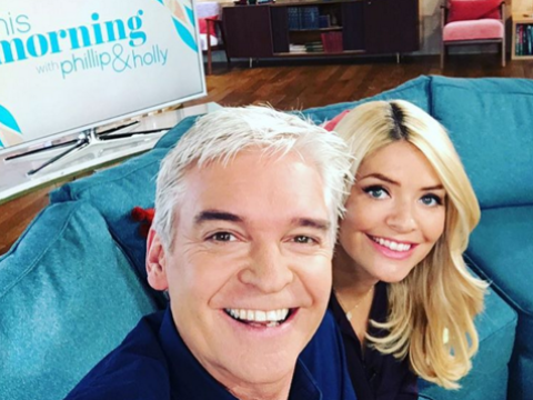 Holly Willoughby reckons she's 'a bit sh*t' on This Morning and Phillip Schofield makes her look good