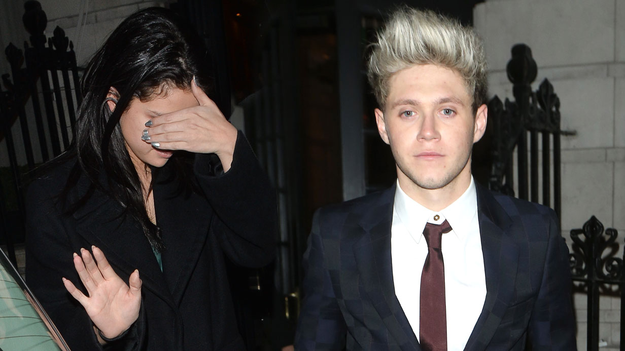 Selena Gomez leaves X Factor party with 1D's Niall Horan after denying any hint of a romance