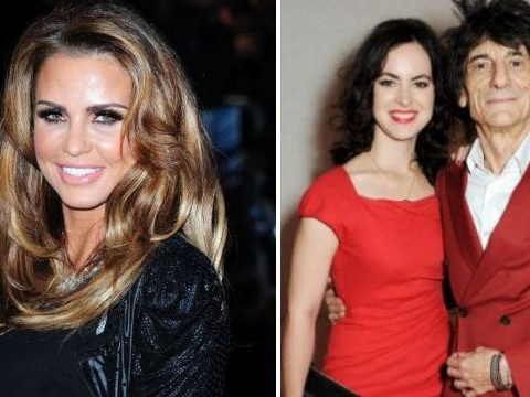 Katie Price slams 'selfish' Ronnie Wood after rocker announces he's set to become a father again at 68