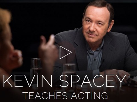 Kevin Spacey wants to teach you how to act