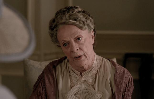 Lady Violet Crawley Downton Abbey