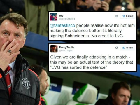 Manchester United fans doubt whether Louis van Gaal has fixed defence after Wolfsburg tear it apart