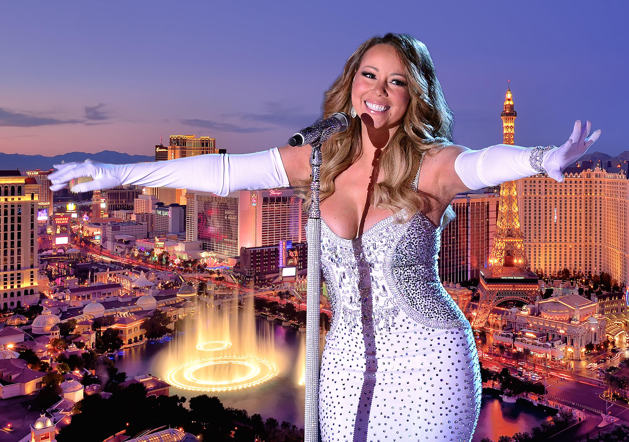 Win the chance to meet Mariah Carey AND see her perform with money-can't-buy Las Vegas experience