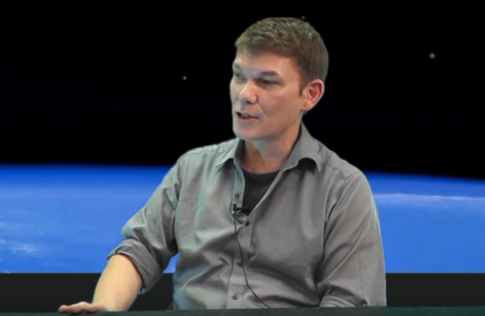 Gary McKinnon on RichPlanet TV Credit: Richard Hall