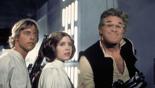 Kurt Russell auditioned for Han Solo and Luke Skywalker Source: AP Credit: METRO / Myles Goode