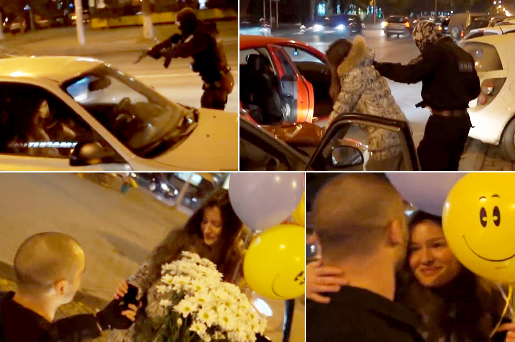 Police officers facing sack for 'terror attack' wedding proposal