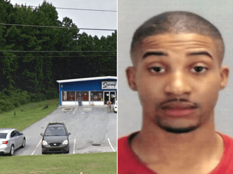 Man accused of rape caught after victim who was ordered to ring her boyfriend calls 911 instead