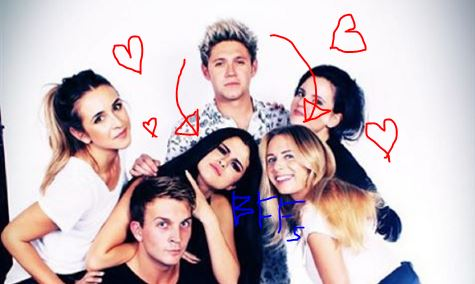 Is Niall Horan dating Selena Gomez after already dating her best friend?