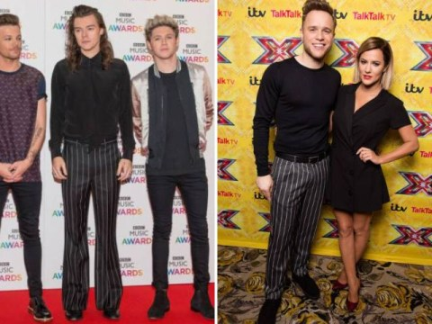 Harry Styles and Olly Murs dressed the same at totally different events on the same night