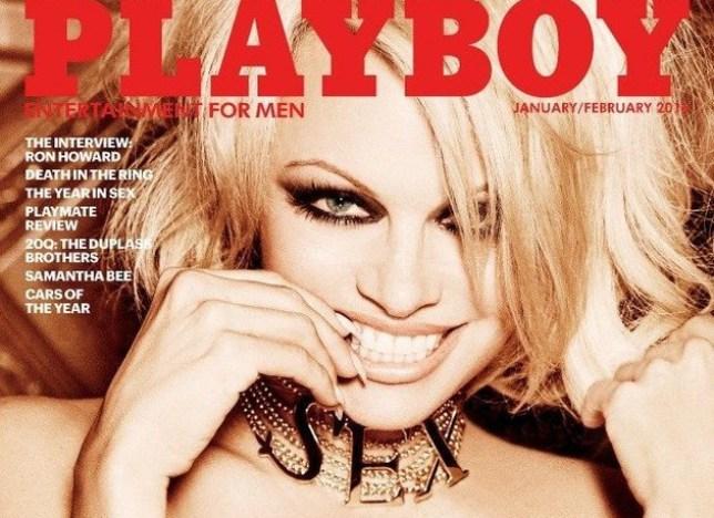 Pamela Anderson in Playboy