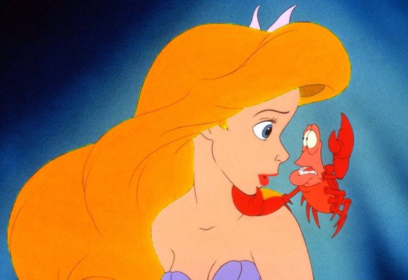No Merchandising. Editorial Use Only. No Book Cover Usage Mandatory Credit: Photo by Moviestore/REX Shutterstock (2848888b) The Little Mermaid The Little Mermaid - 1989