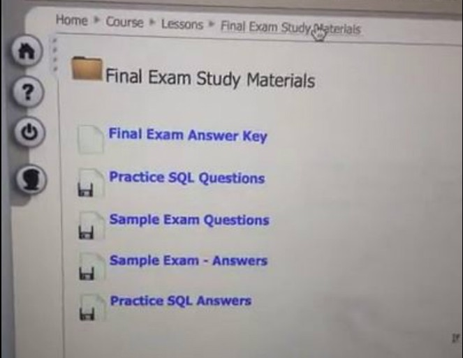 Professor uploads answers to students' exam… and it's not quite what they were expecting