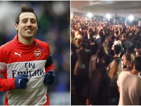 Arsenal fans troll Tottenham supporter Skepta with Santi Cazorla chant at gig