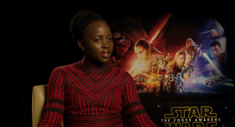 Lupita Nyong'o: Star Wars: The Force Awakens' feminist story felt 'organic'