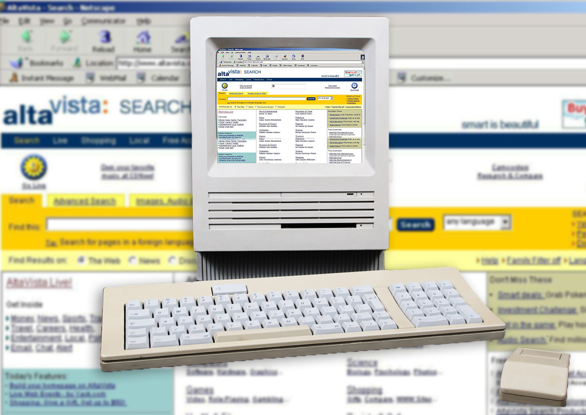 This site lets you browse the web as it was in the Nineties