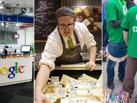 Waitrose, easyJet and London Underground among UK's top 25 employers