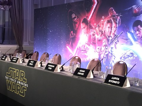 13 things we learned from the Star Wars: The Force Awakens London press conference