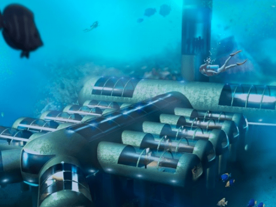 A £13M underwater hotel has just been given the green light