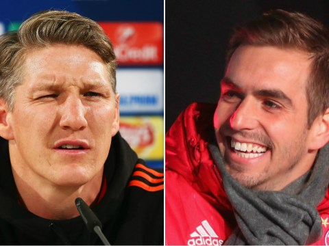 Manchester United's Bastian Schweinsteiger trolled for getting no Christmas break by Philipp Lahm