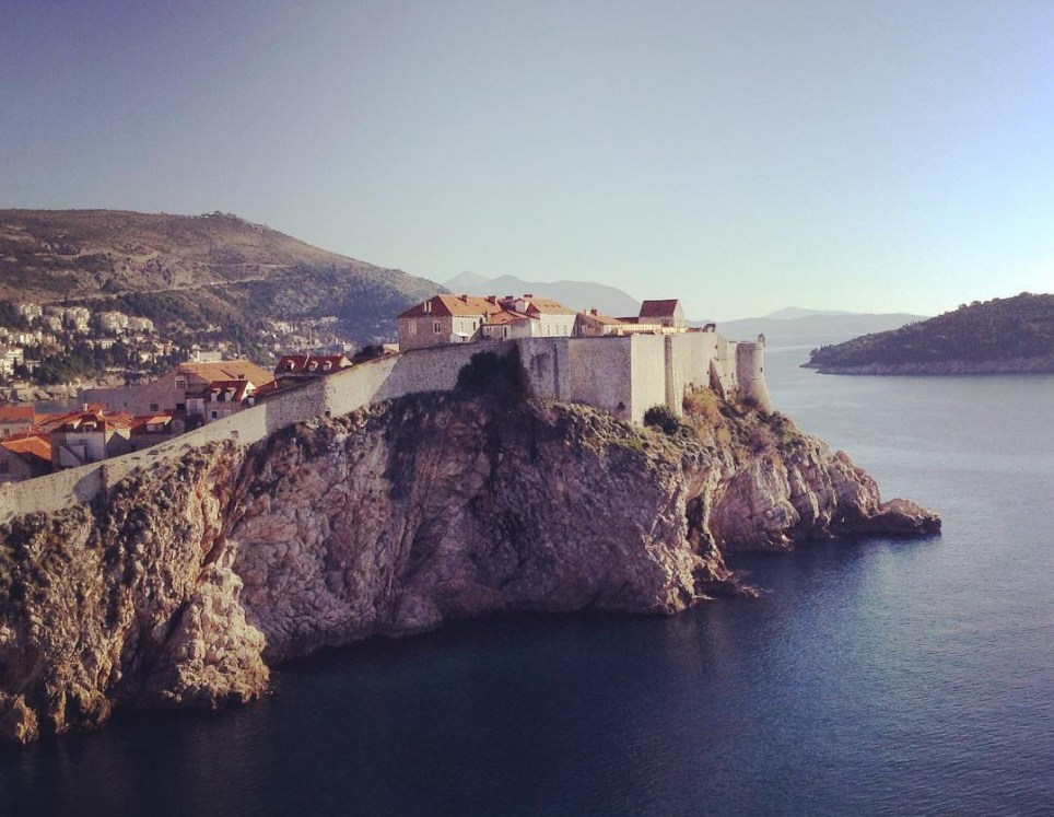 The walls of Dubrovnik (Picture: Nicole Morley)